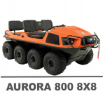 ARGO AURORA 800 8X8 MANUALS