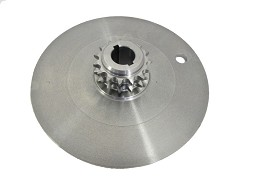 610-24H - DISC, BRAKE - KEYED #40-2x15T