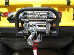 622-130 - WINCH MOUNT W/GUARD