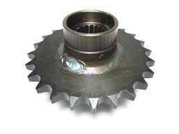 805-136 - SPROCKET ASSY, REAR, S60X24T