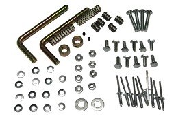 849-60HDW - HARDWARE, REAR BENCH SEAT KIT