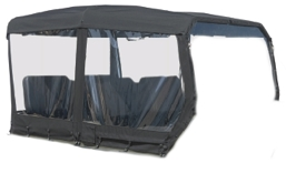900-0005 ACC, CONVERTIBLE SOFT TOP, BLACK - AURORA / FRONTIER 8X8 (2020+)