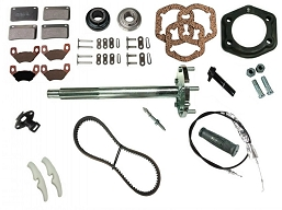 K-194BC BACKCOUNTRY SPARE PARTS KIT (HD / HDI 6X6 2011 - 2016)
