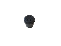 002904-12B  CAP, BLACK WINDSHIELD POST (PVC)