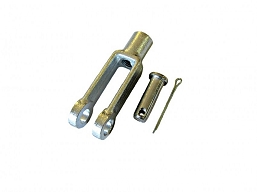 809-186 - CLEVIS, 5/16 - 24 THD