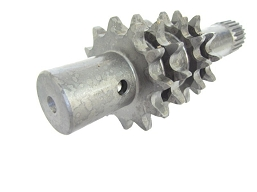 810-116-LS - SHAFT, IDLER, SPLINE, LONG 12T - SUSPERSEDED