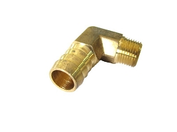 848-31 - BARB, BEADED HOSE 90 ELBOW-NPT