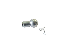 849-252 - BALL CONNECTOR, METAL 10MM