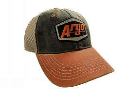 900-0149-100 HAT, ARGO ORANGE BLACK TRUCKER
