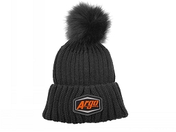 900-0157-100 TUQUE, POM HAT - BLACK